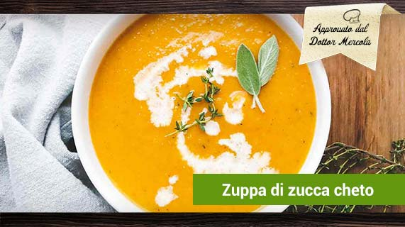 zuppa di zucca cheto