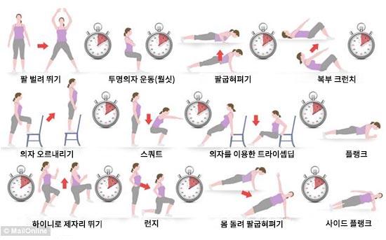 12개 운동을