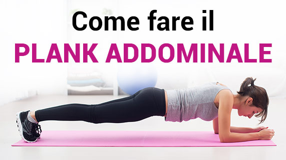 plank addominale
