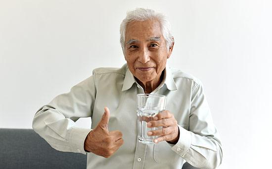물 마시기