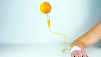 Alto dosaggio di vitamina C endovenosa
