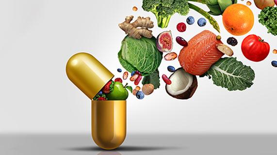 Vitaminas e minerais para a longevidade
