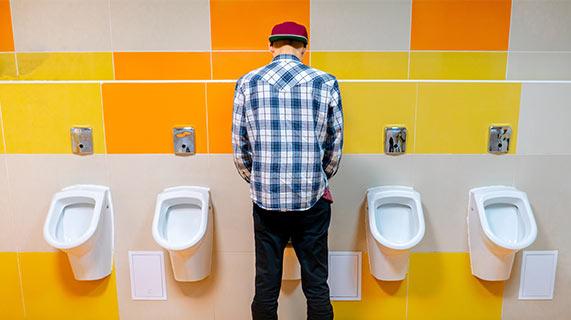Disidratazione e colore delle urine