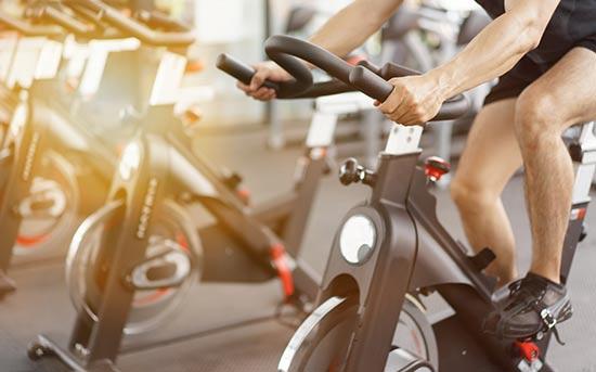 실내 자전거 운동