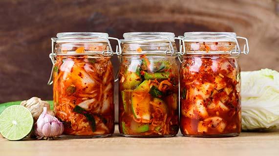 Benefícios do kimchi