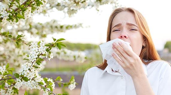 allergie primaverili stagionali