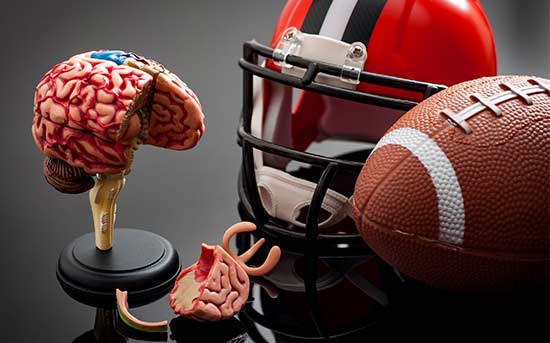 풋볼 뇌진탕