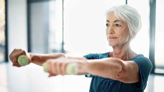 músculos que estão envelhecendo
