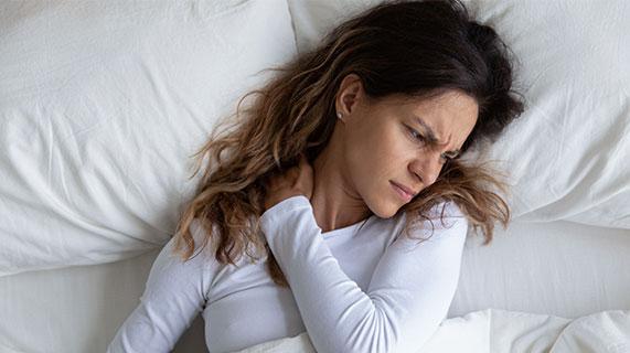 Postura correta ao dormir
