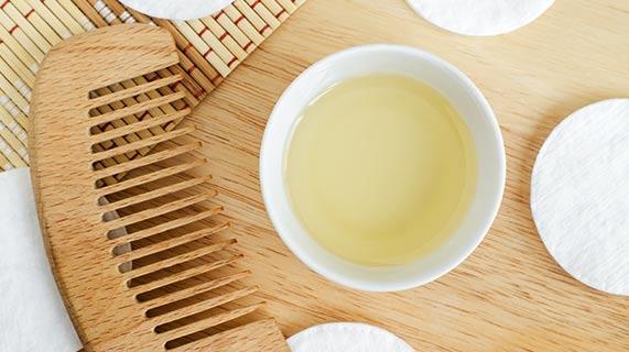 huile noix coco santé cheveux