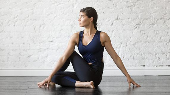 yoga a l'intérieur