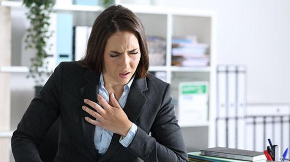 crise panique et crise cardiaque