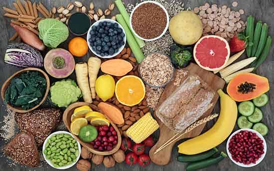고섬유질 식단