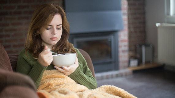 Żywność wzmacniająca odporność pomaga w walce z grypą