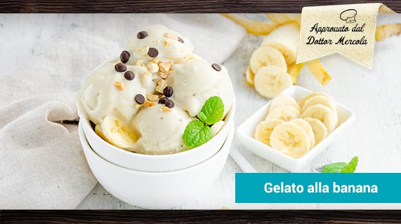 gelato banana
