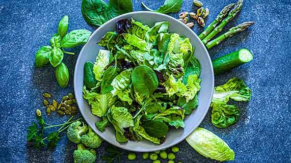 chlorophyll aliments
