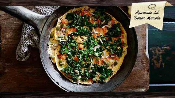 tortilla con kale
