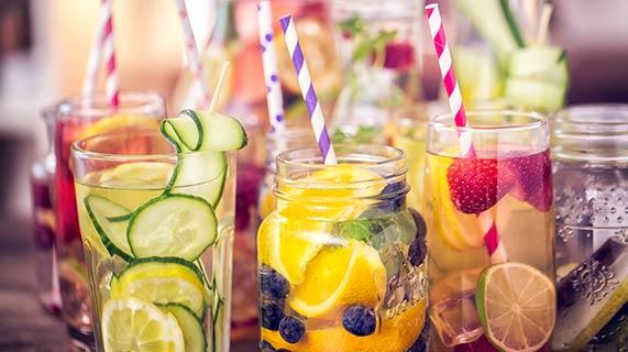 boisson et fruits