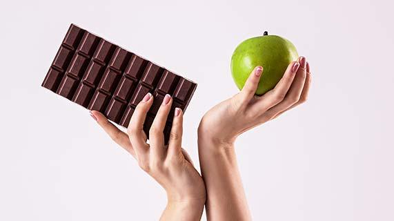 chocolat pomme