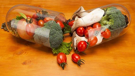 capsule aliments