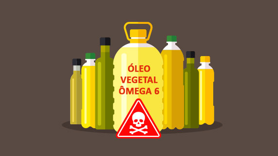 Óleo vegetal ômega 6