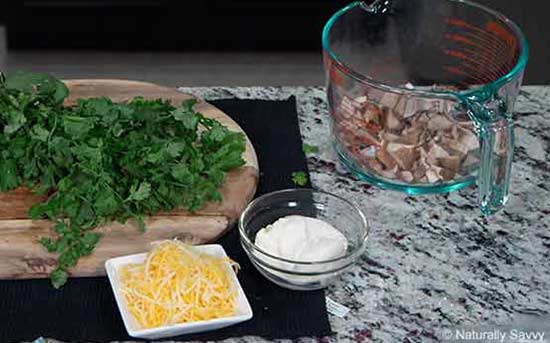 ricetta di tacos di gamberi infusi con coriandolo e aglio 1