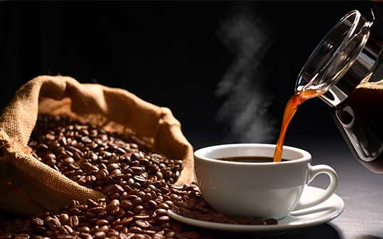 다크 로스트 커피