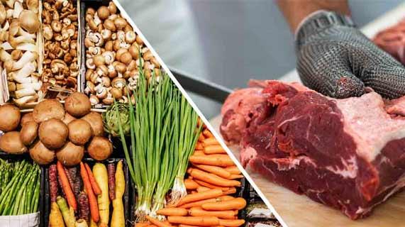 dieta animale o vegetale