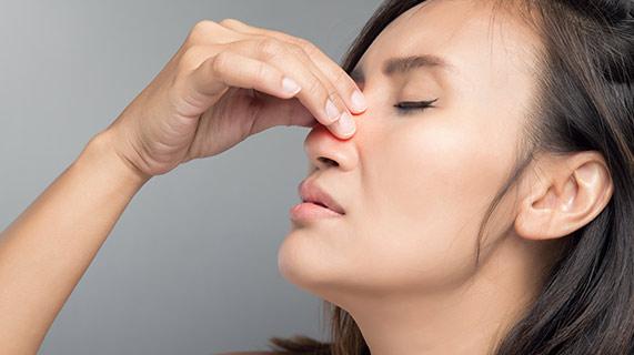 Środek dezynfekujący do nosa?