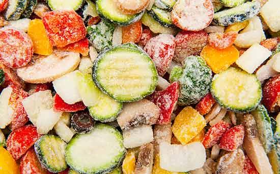 냉동 야채