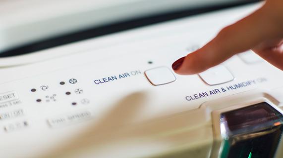 Oczyszczacz powietrza pomaga obniżyć ciśnienie krwi