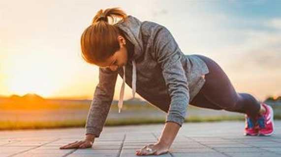 benefícios das flexões