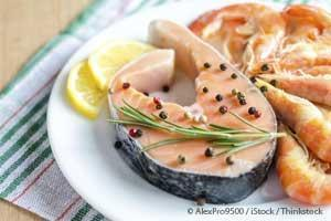 ômega 3 no salmão