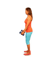 Dumbbell Curls - Open and Hammer Grip