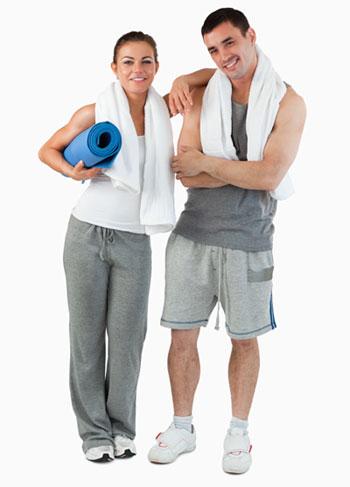 很多人都喜欢邀上其他伙伴一起锻炼。