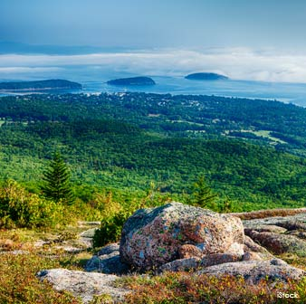 Parque Nacional de Acadia en Maine