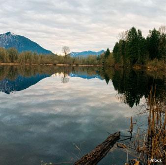 Lago Dorothy en Washington