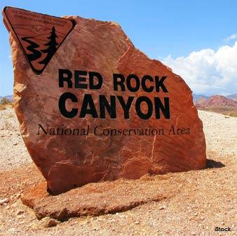 Cañón Red Rock en Nevada
